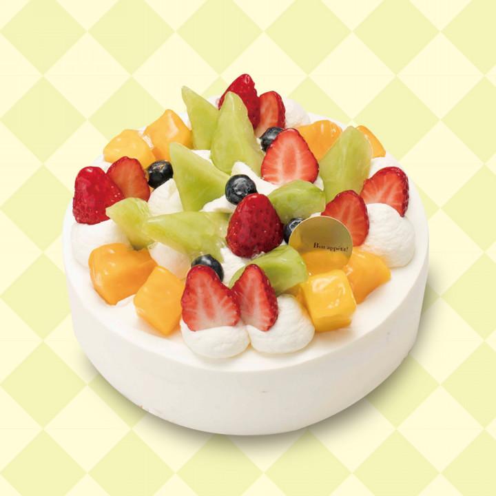 「メロン」のケーキでお祝いしよう!