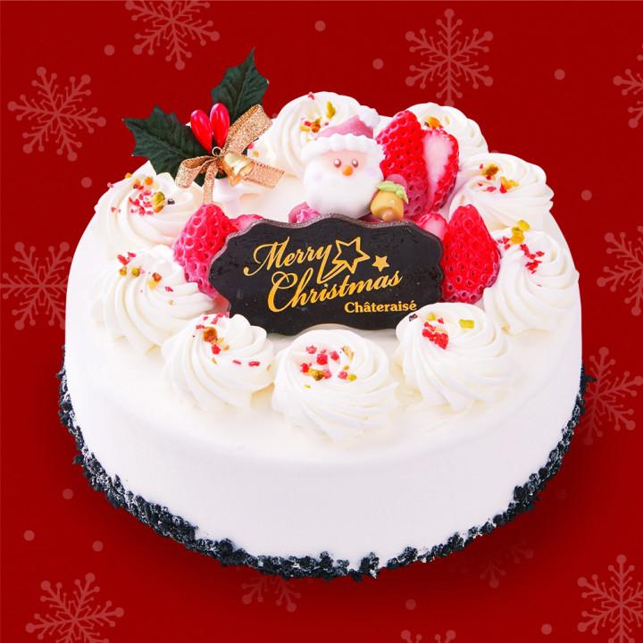 今年のクリスマスケーキにアイスデコレーションはいかがですか