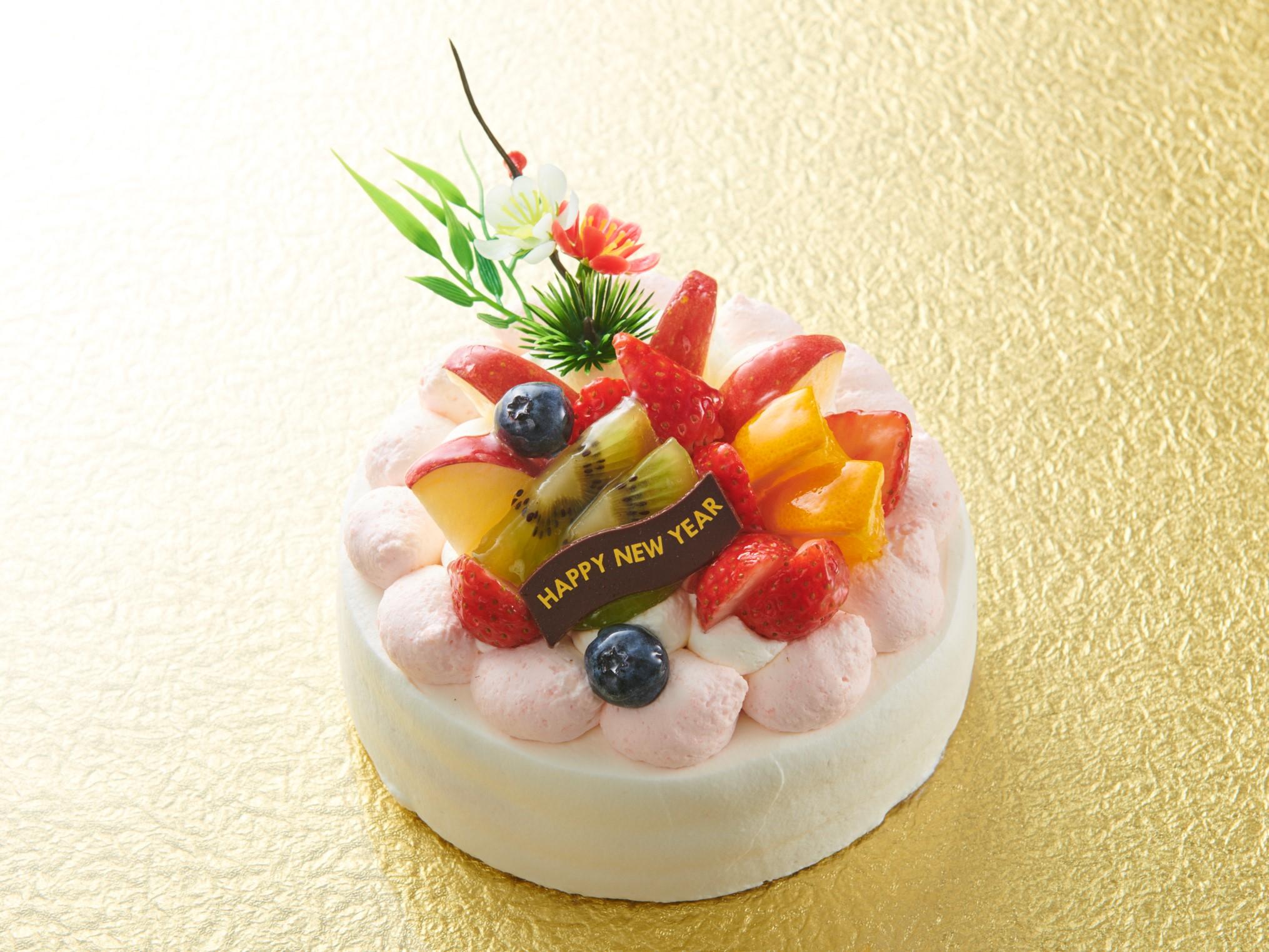 お正月ケーキ_画像