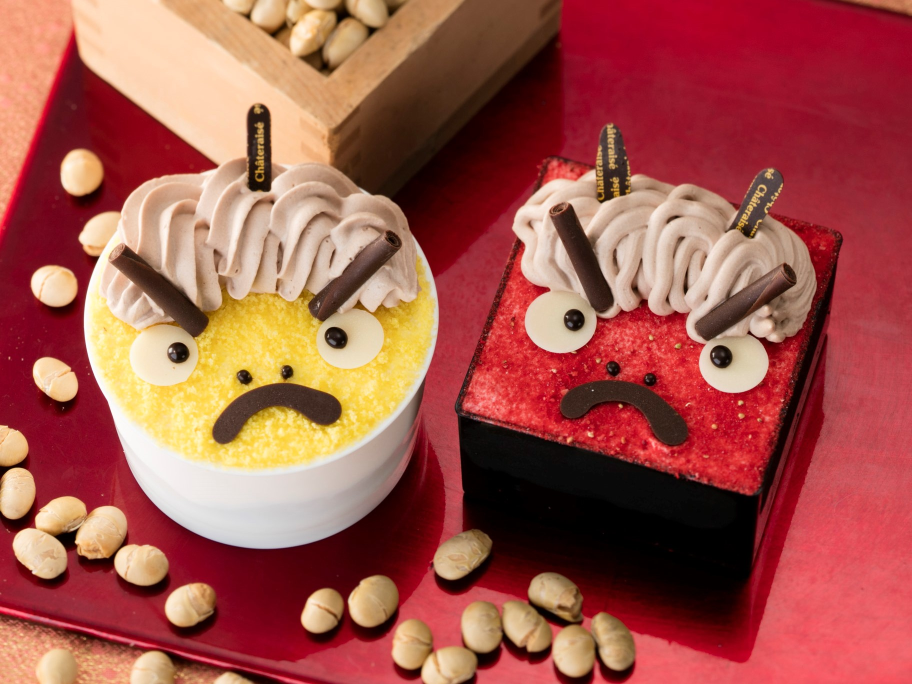 節分_鬼ケーキ_画像