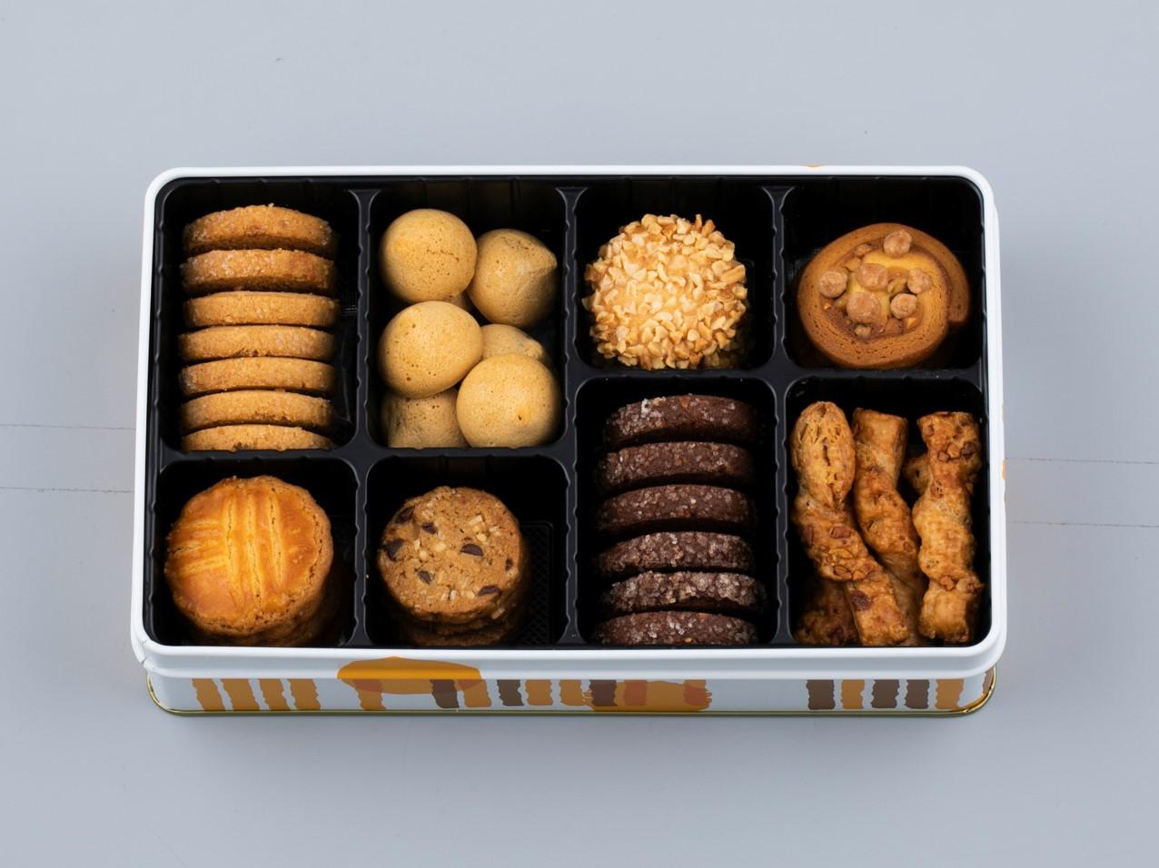 クッキー詰合せ缶_画像