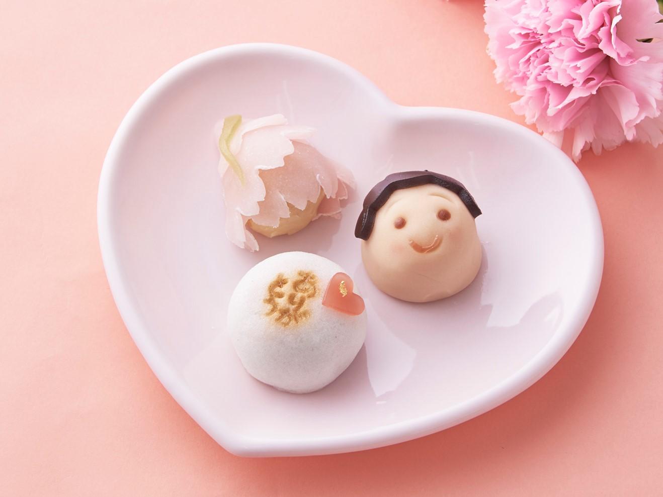 母の日_創作和菓子_画像