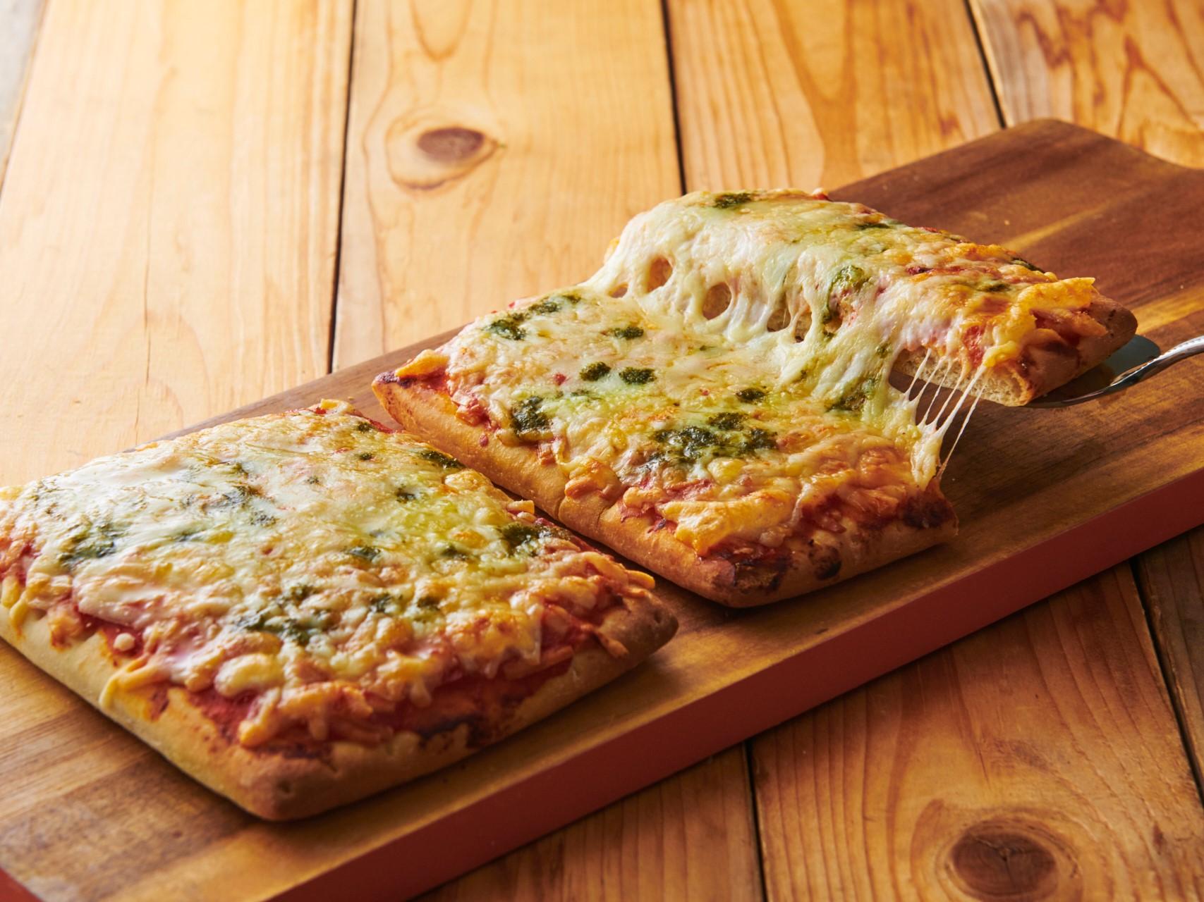 糖質83%カットのピザ_マルゲリータ_画像