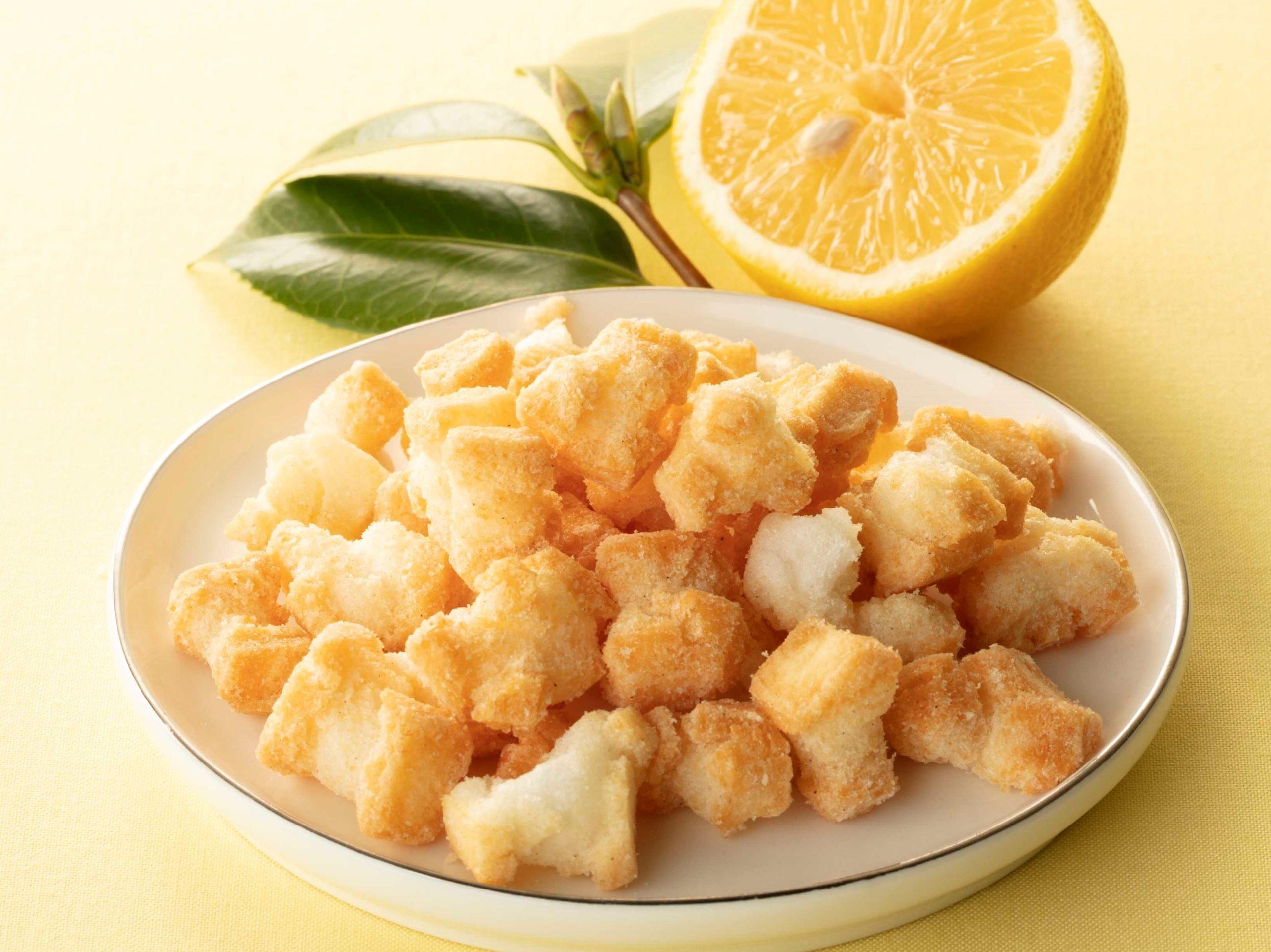 揚げ餅塩レモン_画像