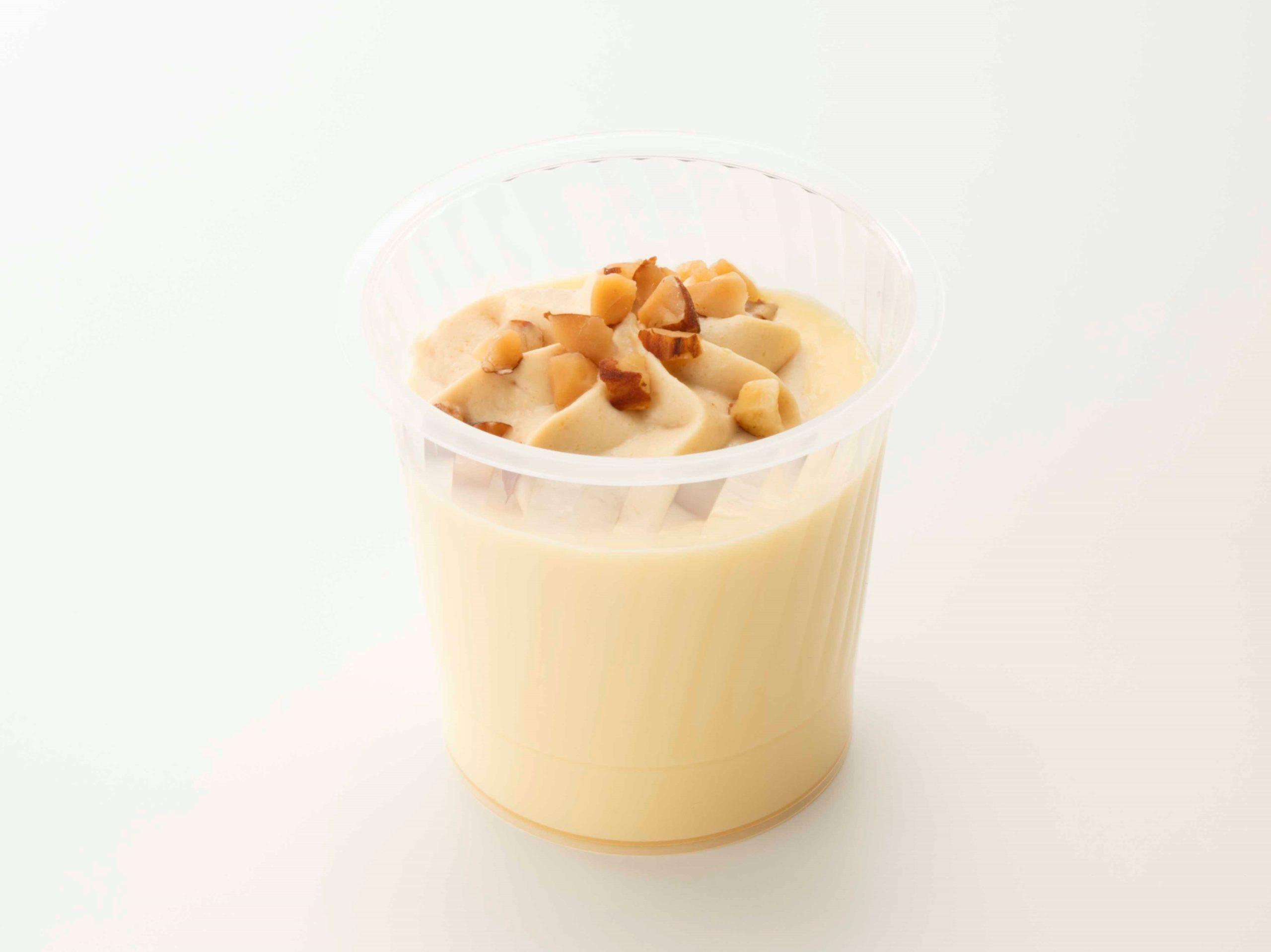 糖質82%カットのプリン_キャラメルナッツクリーム_画像