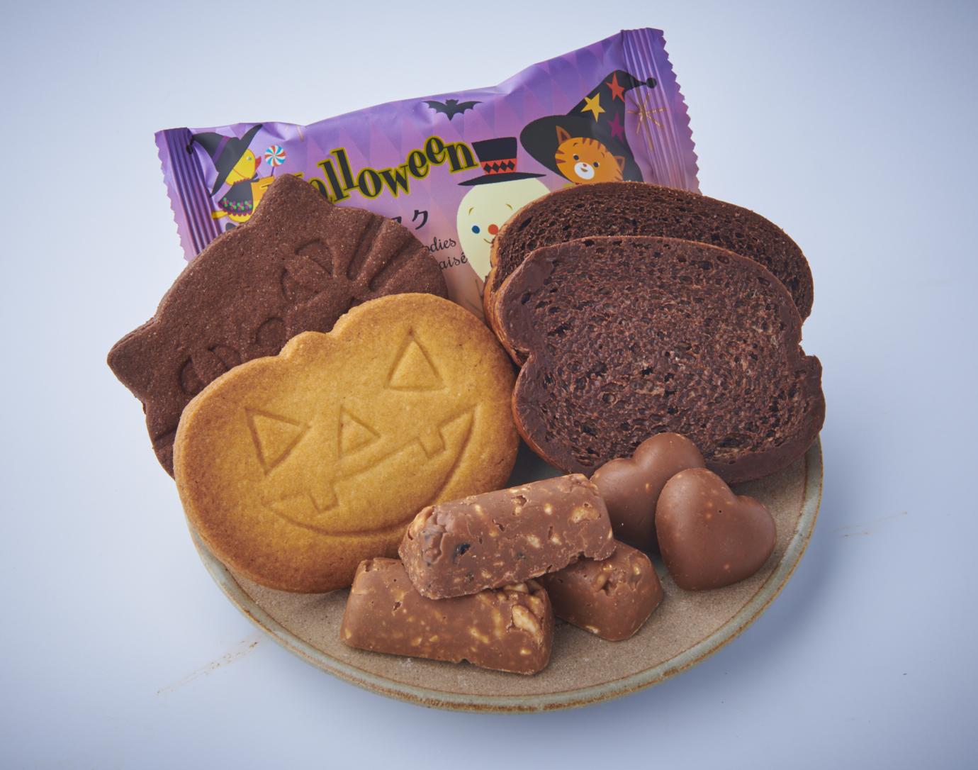 ハロウィン焼き菓子ラッピング_画像