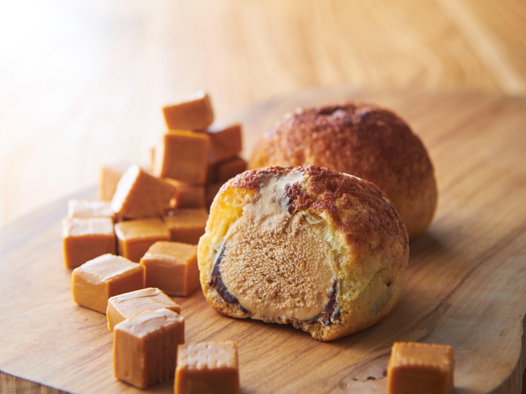 デザートクッキーシューアイス ローストバターキャラメル_画像