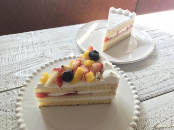 乳と卵と小麦粉を使用していないショートケーキ_画像
