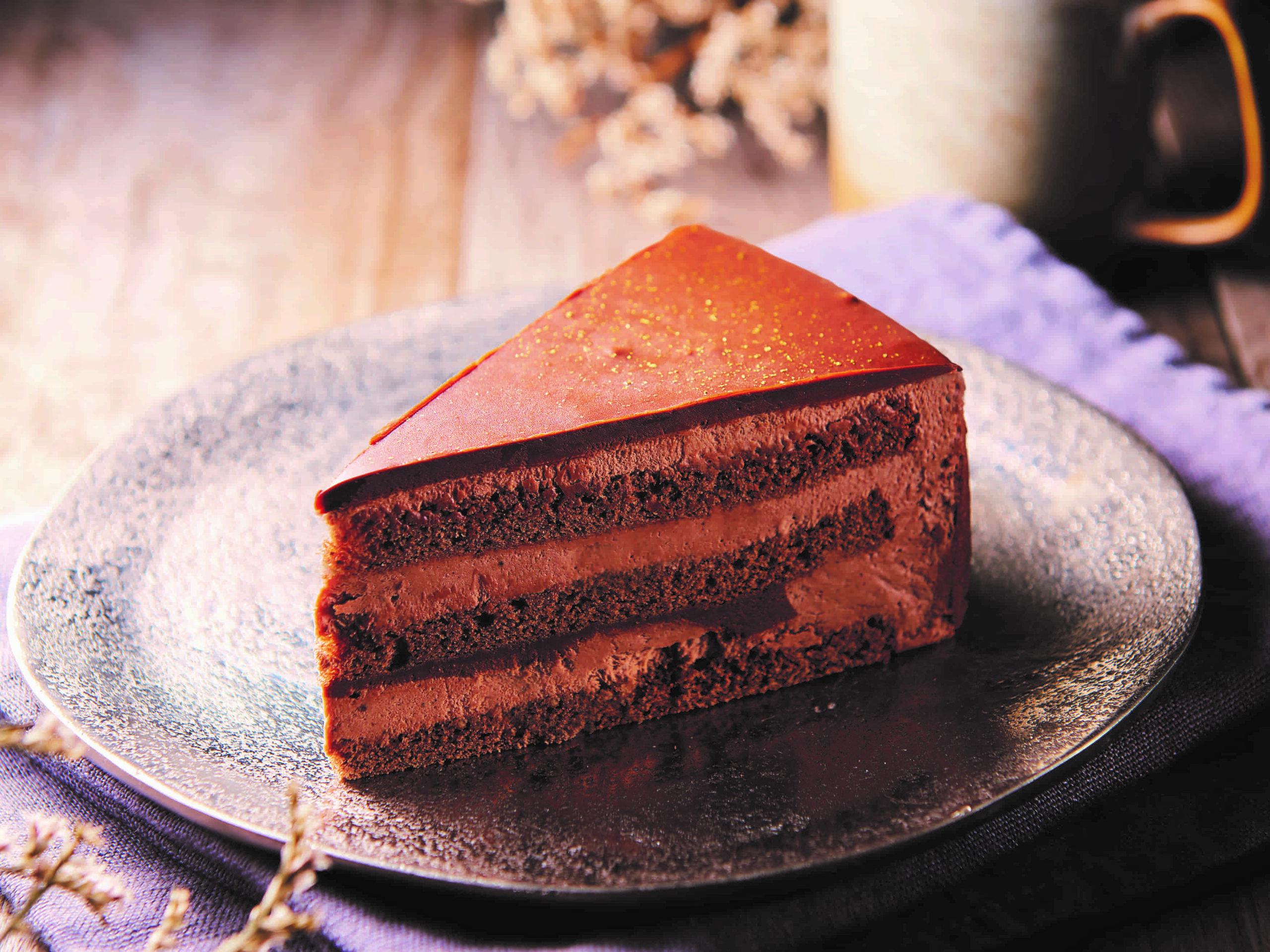 糖質86%カットの濃厚チョコショートケーキ_画像