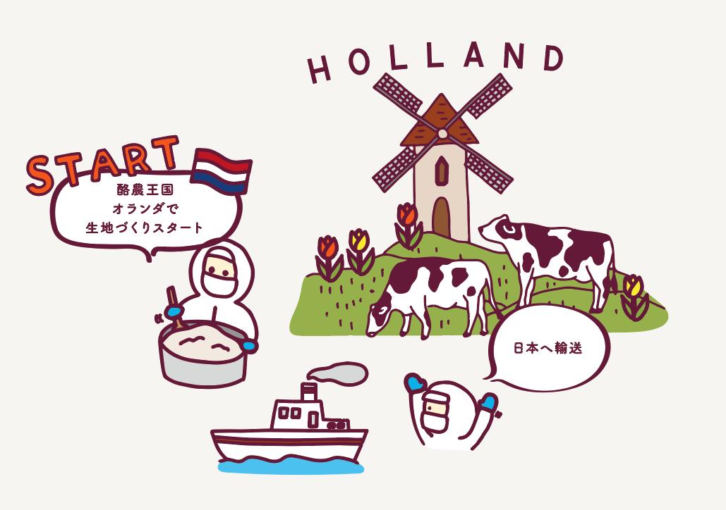 プレミアムアップルパイ_オランダ_画像