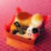 かわいい干支のプリンアラモード_画像